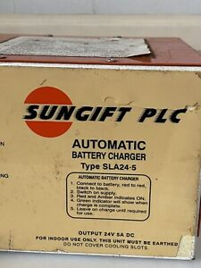 Sungift 24v 5a Car Battery Charger Automatic Intelligent Starter Pulse Repair Uk