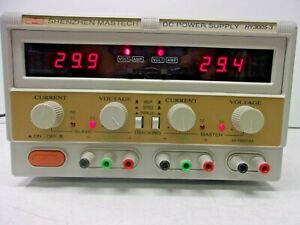 Shenzhen Mastech Hy3005 3 Dc Adjustable Triple Power Supply 30 Volts 5 Amps