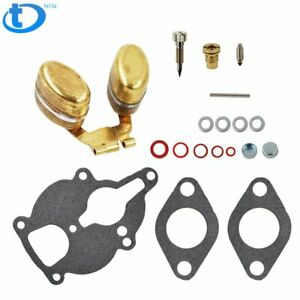 New Carburetor Kit Float For Wisconsin Engine Vh4d Vhd Tjd Thd Ahh Replace Lq39