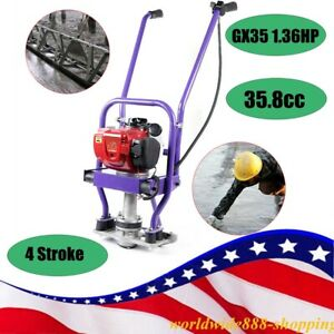 Gx35 Gas Concrete Wet Screed Gasoline Power Screed Cement 4 Stroke 7000r min Usa