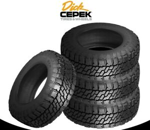 4 Lt305 55r20 Dick Cepek Trail Country Exp 121 118q E 10 Ply Bsw Tires