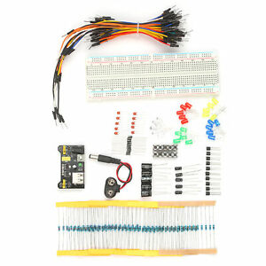 Electronic Components Kit Electronic Component Assortment 830 Tie Points Q4a0