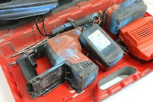 Hilti Te 7a Cordless Hammer Drill With Charger And 2 Battery