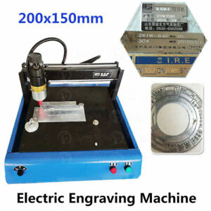 400w Electric Metal Marking Engraving Machine 200x150mm 50mm s Nameplate 110v Us