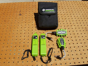 Greenlee Pa1573 Tone Probe Generator Kit With Rj11 Rj45 Adapters Nice Cond