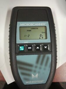 Microtest Microscanner Cable Wiremap Tonertester 2947 4000 01
