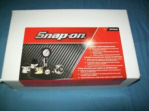 New Snap On Svts263a Air Powered Cooling System Pressure Tester Kit