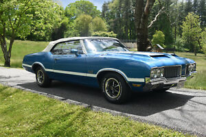 1970 Oldsmobile 442 Numbers Match 455 Dual Gate Hurst Beautiful Olds 442 Convertible S Matching 455 Hurst Dual Gate Ex Cond