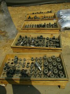 Massive Lot Of Universal Kwik Switch 50 Taper Tooling 380 Pieces 804495 805045