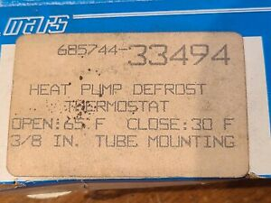 New Old Stock Mars 33490 Heat Pump Defrost Thermostat Free Shipping