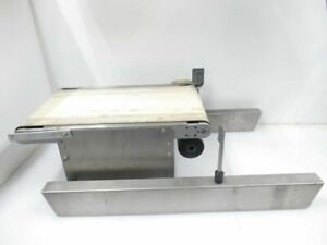 Gcwg7881 18z66 loma Systems Mini Stainless Steel conveyor W Belt used Tested