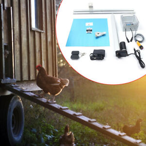 66w Heavy Duty Automatic Chicken Coop Door Opener Timer Operated complete Kit