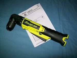 New Snap On Lithiumion Cdrr761hvdb 14 4v 3 8 Right Angle Cordless Drill Driver