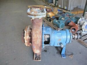 Goulds 3196 xl 6 X 8 13 Iron Pump 918846j Used
