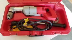 Milwaukee 3102 6 1 2 D handle Right Angle Drill Kit