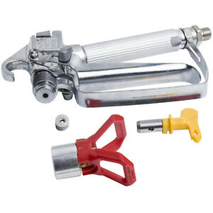 3600psi Airless Paint Spray Gun W 517 Tip Nozzle Guard For Wagner Sprayers