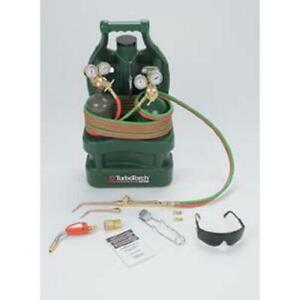 Turbotorch 0386 1339 Ttv j apt Oxy acetylene Tote Outfit With Tanks