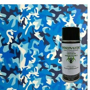Hydrographic Film Water Transfer Hydro Dip 6oz Activator W Army Blue Camo Dip