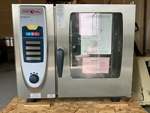 Rational Scc 61 Self Cooking Center Stainless Steel Combi Oven 480v 3ph