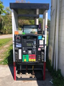 Gilbarco Encore Dispensers 2 Pumps Total 1 With Diesel And 1 Without