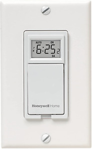 Honeywell Rpls530a 7 day Programmable Timer Switch White Requires 40 W Minimum