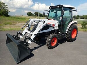 New Bobcat Ct5558 Compact Tractor W loader cab Heat ac 4x4 Hydro 540 Pto