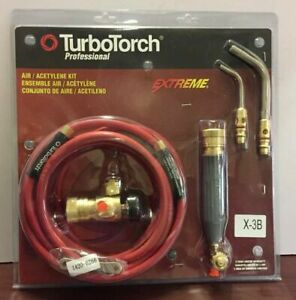 Victor Turbotorch X 3b Torch Kit Swirl For B Tank Air Acetylene New