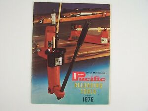 Pacific Reloading Tools January 1975 Brochure Pamphlet $19.99