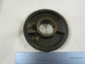 Nice South Bend 9 10k Lathe Headstock Spindle Bull Gear
