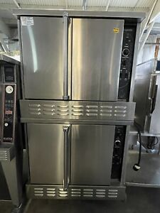American Range Majestic Double Stack Convection Oven Nat Gas