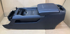 2019 2020 2021 Ram Dt 1500 Limited Full Center Console Ram Charger Black Leather
