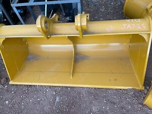 New 72 Ditching Cleanup Bucket For Cat Caterpillar 320 Excavator Free Shipping