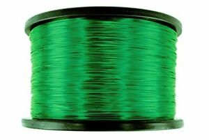 Temco 26 Awg Copper Magnet Wire 5 Lb 6290 Ft 155 c Magnetic Coil Green