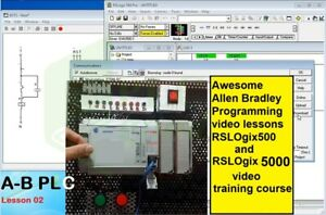 Awesome Allen Bradley Programming Video Lessons Rslogix500 5000 Training Course