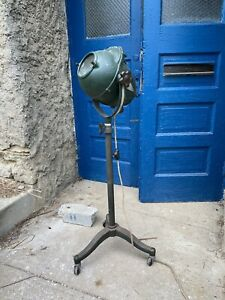 Vtg 1930s Chromaray Color Therapy Healing Machine Quack Industrial Floor Lamp