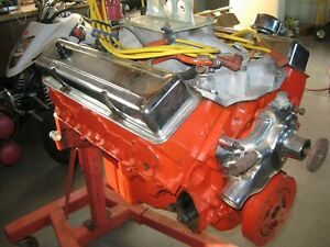 327 Engine Powerglide Trans And Misc Parts Original To A 1968 Chevrolet Camaro