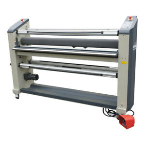Usa 110v 63in Wide Format Cold Laminator Laminating Mounting With Heat Assistant