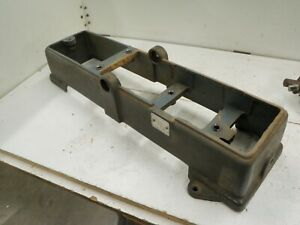 Cast Iron Base From Craftsman King Seeley 4 3 8 Jointer 103 23340