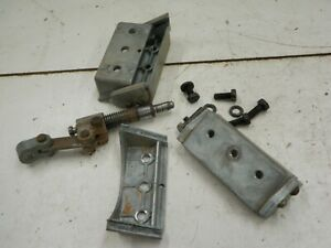 Adjustment Assemblies From Craftsman King Seeley 4 3 8 Jointer 103 23340