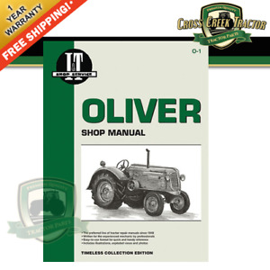 Ito1 New Shop Manual For Oliver Tractors 60hc 60kd 70hc 70kd 80hc 80kd 90