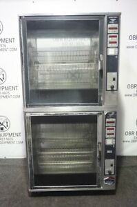 Henny penny Double Stacked Rotisserie Oven Model Scr 16 capacity 64 80 Chickens