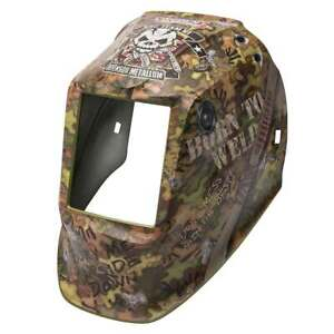 Lincoln Electric Viking 2450 3350 Born To Weld Helmet Shell Kp4575 1