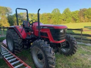 2019 Mahindra 6065 4wd Farm Tractor only 101 Hours