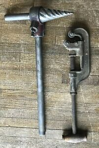 Reed N0 2 71 Spiral Ratcheting Pipe Reamer Greenfield Pipe Cutter No 2