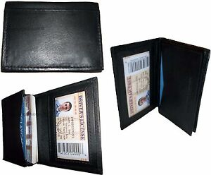 Lot Of 3 New Leather Business Card Case Credit Card Holder Fifty Card Case W Id
