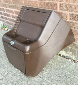 1985 1995 Chevy Gmc Van Stock Brown Center Plastic Console Doghouse Engine Cover