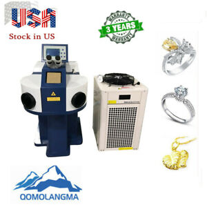 Us Stock Laser Spot Welding Machine For Jewelry Cy w200 Color Led Touch Screen