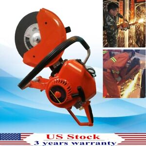 Pro Concrete Cutter Metal Pipe Pavers Cutting Saw W Blade oiler master Cylind