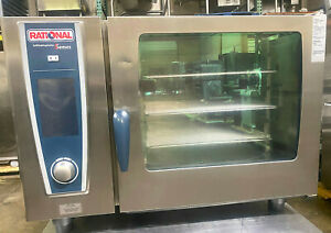 Rational Sccwe62g 6 Pan Full Size Natural Gas Combi Oven fully Refurbished