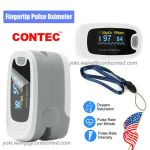 Oled Finger Pulse Oximeter Blood Oxygen Heart Rate Saturation Monitor Machine